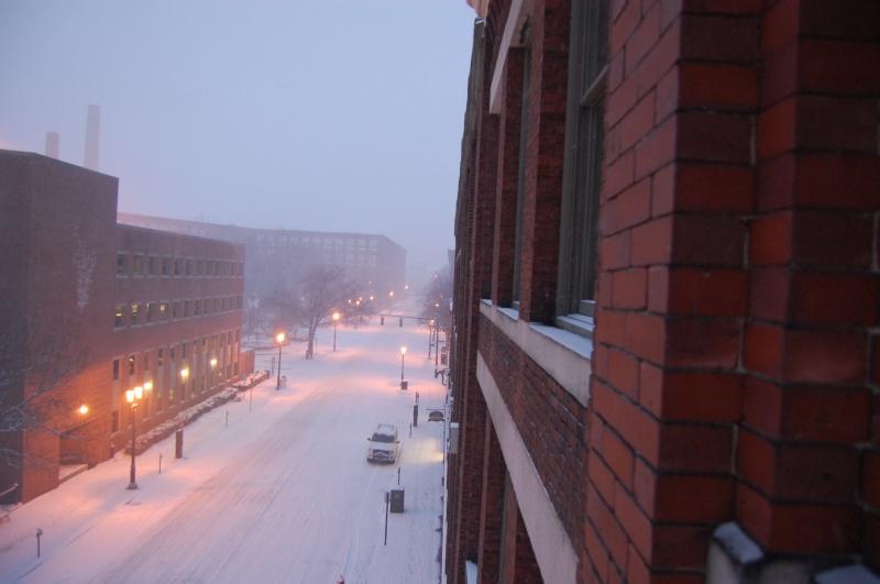 Lowell MA blizzard 2013 1