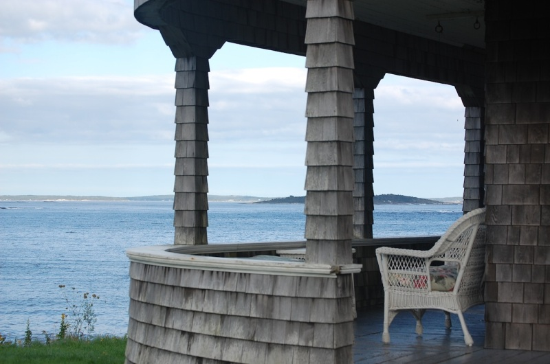 Maine vacation view